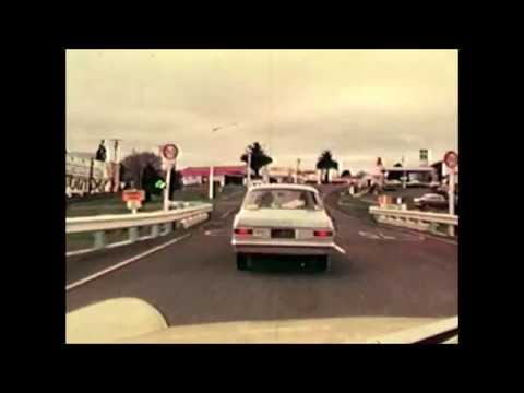 Driving from Karangahake to Golden Valley via Waihi 1979