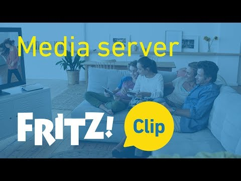 FRITZ! Clip – Come il FRITZ!Box diventa media server