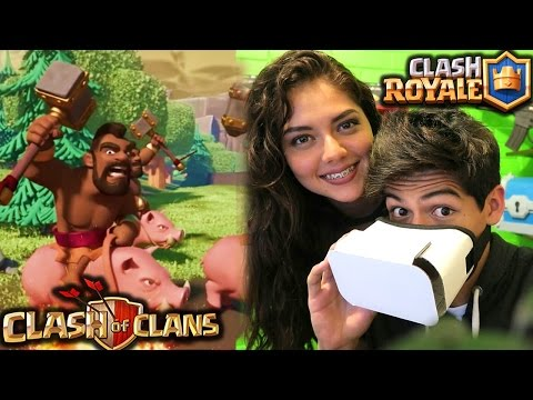 Thumbnail: ¡CLASH en REALIDAD VIRTUAL con mi HERMANA! - [ANTRAX]☣