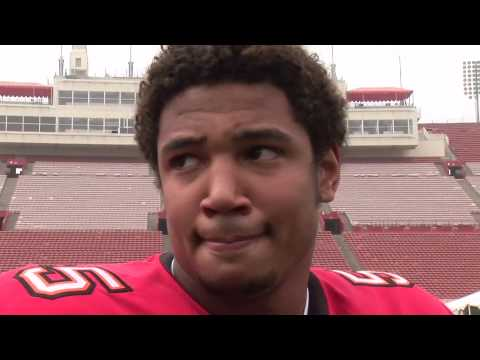 Josh Freeman interview with ToppsTV at the NFL Rookie Shoot