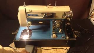 morse zig zag sewing machine testing