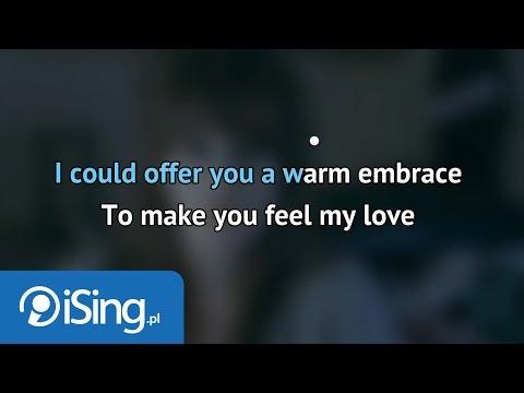 Adele - Make You Feel My Love (karaoke iSing)