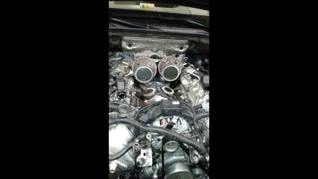 small resolution of see bmw n63 engine running with open exhaust enginelabs