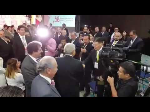 Asi recibió la CIRT a Andrés Manuel López Obrador