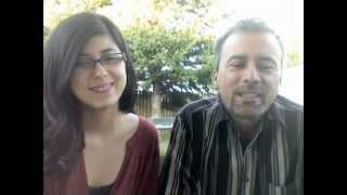 Vicente Fernandez - Si Nos Dejan (cover) Daniela Andrade & Dad