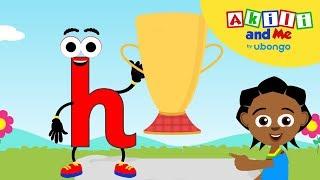 Meet Letter H!   Akİli and Me   African Preschool Cartoons