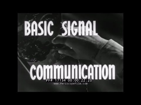"1941 U.S. ARMY SIGNAL CORPS   "" BASIC SIGNAL COMMUNICATION ""  FIELD TELEPHONE SYSTEM SETUP 17134"