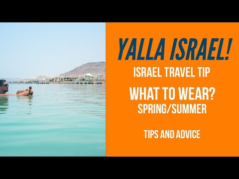 Holy Land Tours | What To Wear Spring/ Summer | Israel Trips