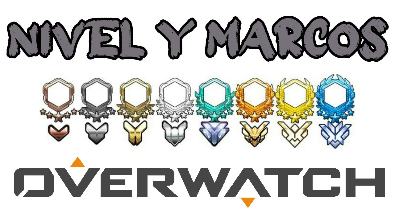 Nivel máximo y marcos en Overwatch - YouTube