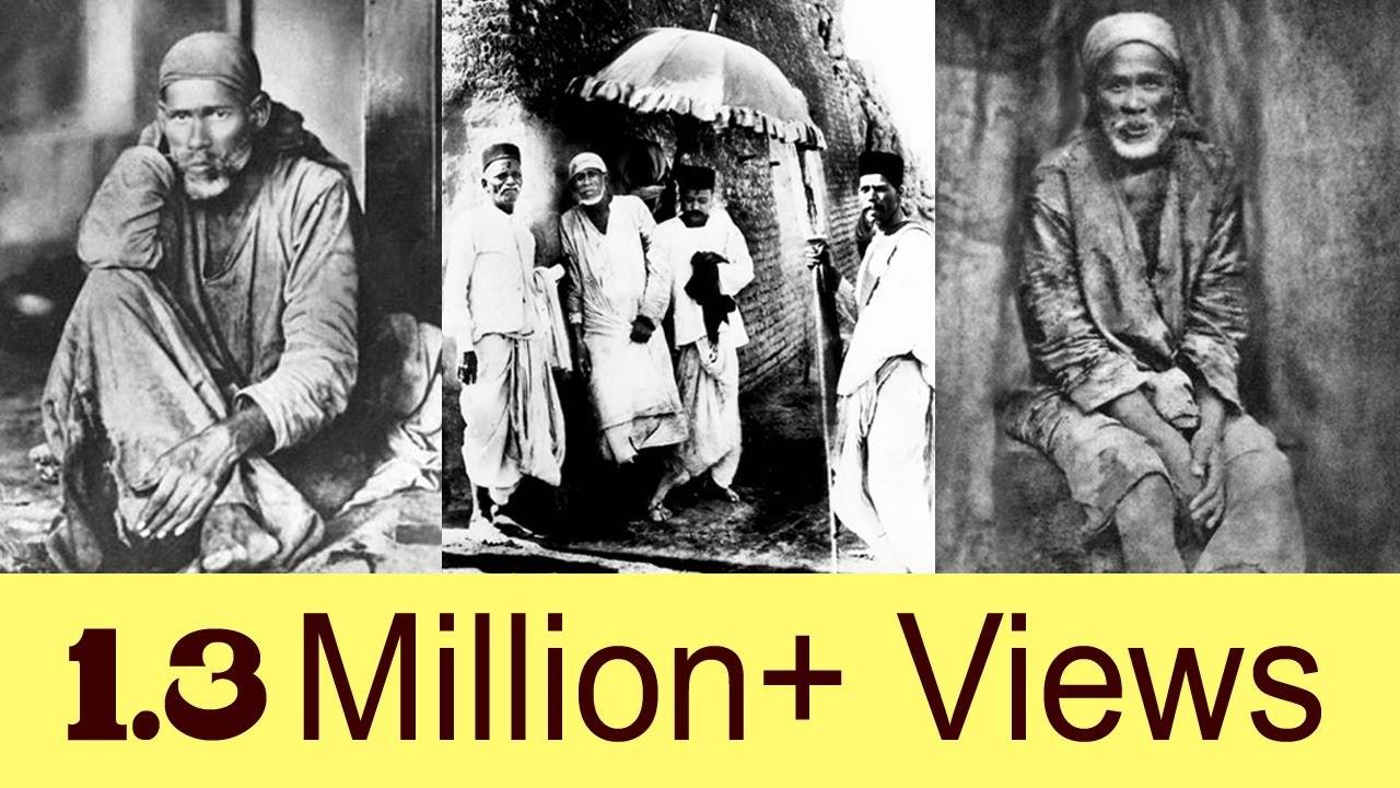 Shirdi Sai Baba Rare Original Photos