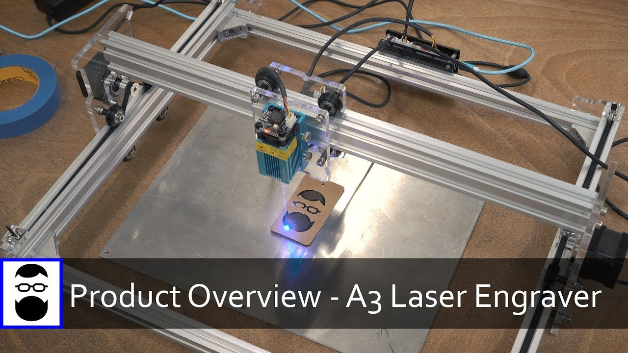 Product Overview Eleksmaker A3 Laser Engraver Youtube