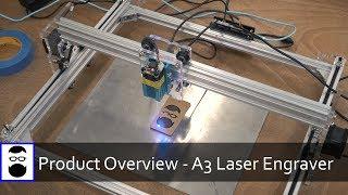 Product Overview - EleksMaker A3 Laser Engraver