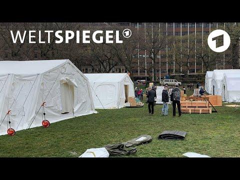 New York: Zwischen Hoffen und Sterben | Weltspiegel