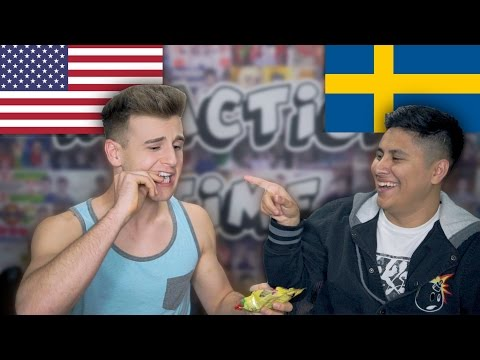 Americans React To Swedish Candy!