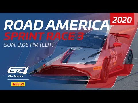 RACE 3 - GT4 SPRINT - ROAD AMERICA 2020