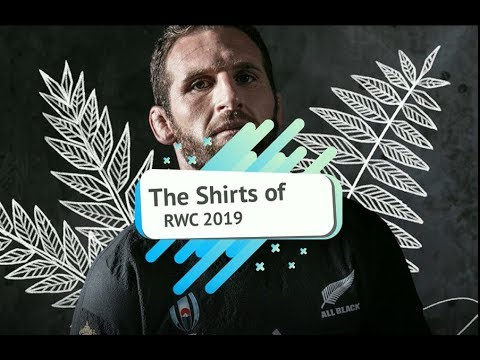 The Shirts Of Rugby World Cup 2019