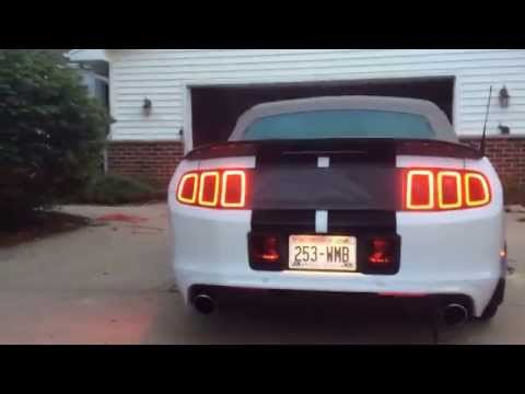 2014 Mustang Club of America Convertible modded 3.7 V6 3.73 gears