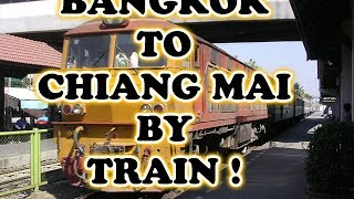First Class Sleeper Train from Bangkok to Chiang Mai - OscarInAsia