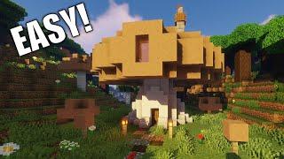 How to Build a Mushroom House Fairy House #2 Brown Mushroom House YouTube