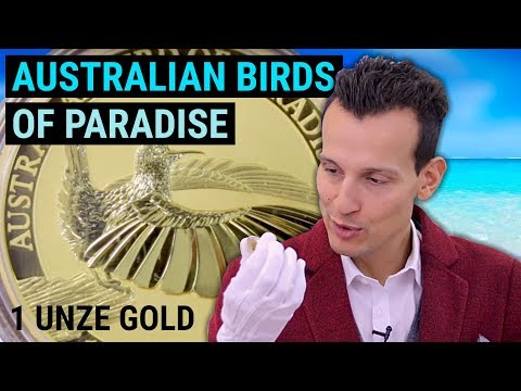 Australian Birds of Paradise - 1 Unze Gold - Nur 5.000 Stück