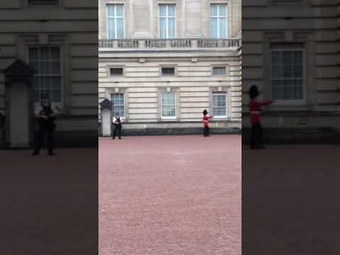 La palatul reginei Londra