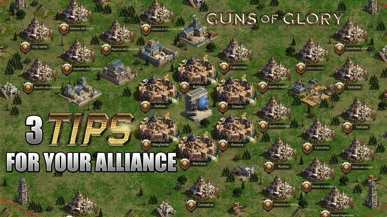 Guns of Glory - 3 Alliance tips