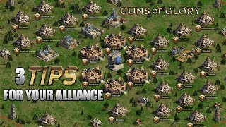 Guns of Glory - 3 Alliance tips
