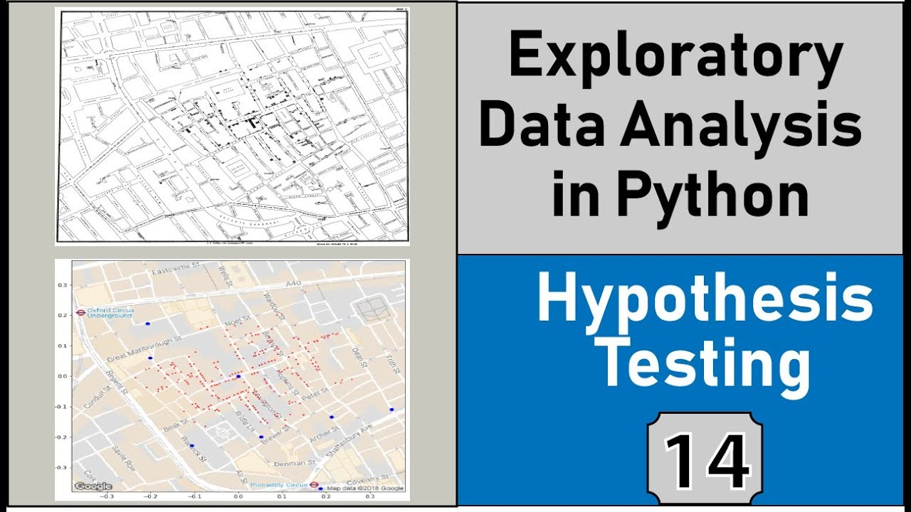 Hypothesis Testing, p-value & Confidence Intervals, Exploratory Data  Analysis In Python Statistics