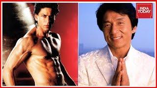 Video Shah Rukh Khan & Jackie Chan Facetime Chat At San Fransico Film Festival download MP3, 3GP, MP4, WEBM, AVI, FLV April 2018