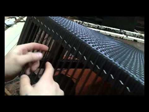 Мебель из искусственного ротанга: броский элемент декора для тех, кто любит плетёный шик