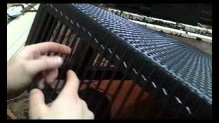 как сделать мебель из ротанга своими руками