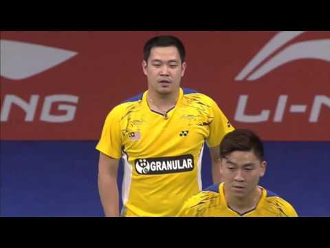 Day 3   2014 BWF World Championship   Koo Kien Keat  Tan Boon Heong vs Li Junhui Liu Yuchen