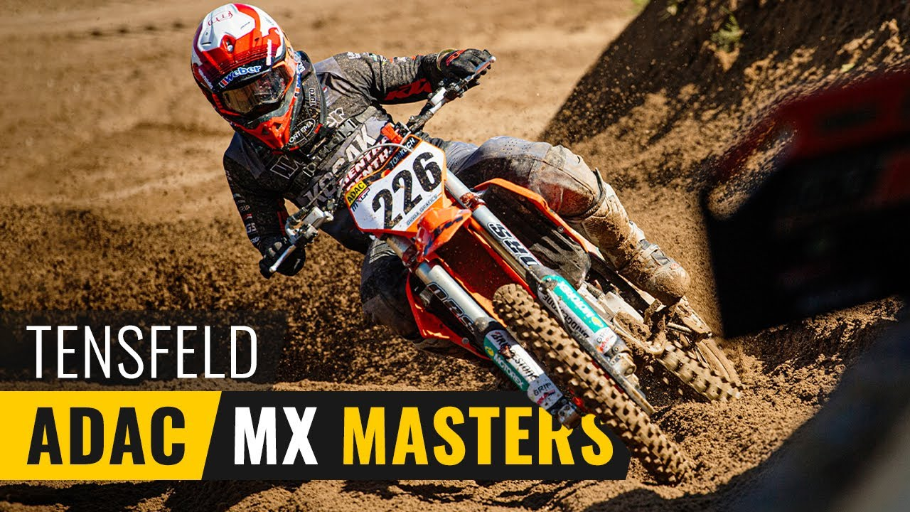 TOM KOCH RACEVLOG: ADAC MX Masters Tensfeld 2021, Poleposition und Podium