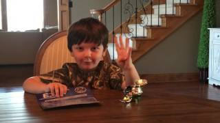 Conner's Toys Instructions #1 - E.T. Spaceship Launcher