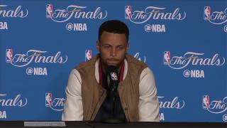 Steph Curry Postgame News Conference #2 | Warriors vs Cavs Finals Game 2 | June 4, 2017
