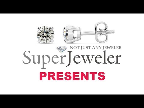 292ad6985 1/2ct Diamond Stud Earrings in 14k White Gold | SuperJeweler.com