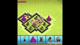 Clash of Clans Rathaus 7 WAR-BASE