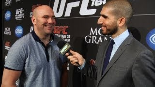 UFC 160: Dana White Discusses Event, Diaz Brothers and More