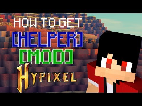 How to get HELPER and MOD on Hypixel without being 16! - YouTube