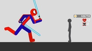 Stickman Backflip Killer 3 Part 41 Spiderman All Levels100% Complete / Android Gameplay HD
