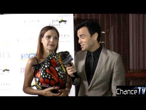 Bella Magazine LA Launch party interview with Suzanne Cryer Star of Silicon Valley