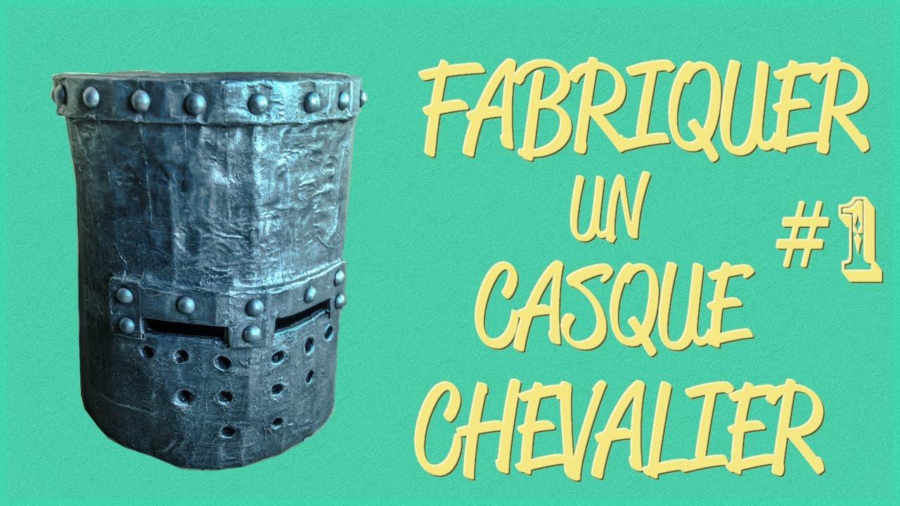 Fabriquer un casque de chevalier 1 chevalier cosplay - Comment fabriquer un coffre en carton ...
