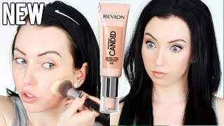 new-revlon-candid-foundation-first-impression-review-amp-demo-dry-skin-10-hr-wear-test