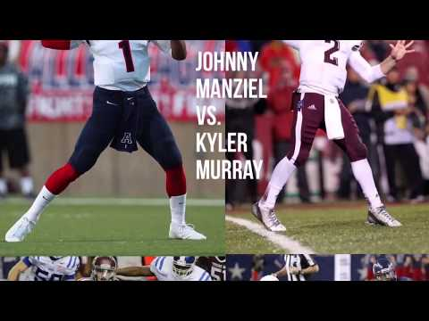 Johnny Manziel vs Kyler Murray