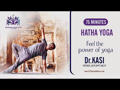 75 minutes Hatha Yoga  - Feel the power of yoga - Thousand Petaled Lotus Yoga Center - DUBAI, UAE