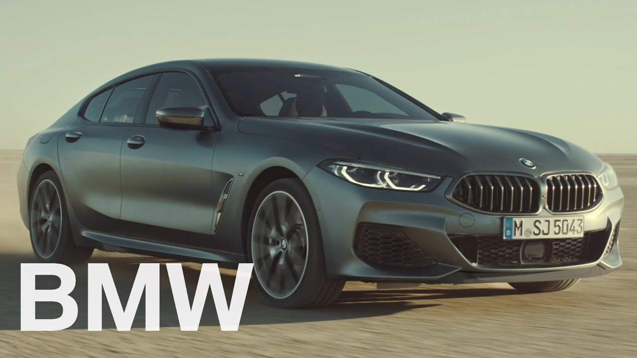 The first-ever BMW 8 Series Gran Coupe  Official Launch Film
