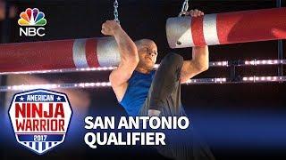 Brent Steffensen at the San Antonio Qualifiers - American Ninja Warrior 2017