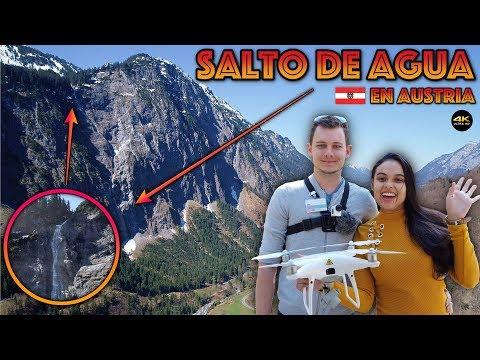 "Salto De Agua En Austria ""Phantom4 Pro"" 4K/DronePilot"
