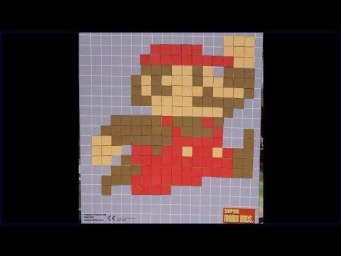 Pixel Craft Super Mario Qui Saute