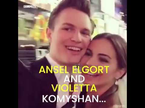 Ansel Elgort is still with his HS girlfriend, Violetta Komyshan